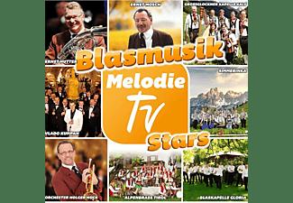 VARIOUS - Blasmusik Melodie TV Stars  - (CD)
