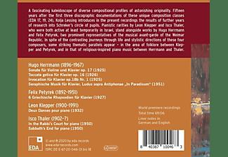 Lessing,Kolja/Kersten,Andreas - FRANZ SCHREKER S MASTERCLASSES  - (CD)