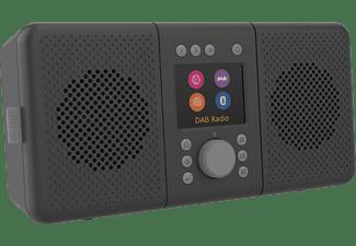 PURE Elan Connect+ DAB+ Radio, DAB, DAB+, Internet Radio, FM, Bluetooth, Charcoal