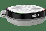 PURE StreamR Splash Bluetooth Lautsprecher, DAB, DAB+, FM, Bluetooth, Stone Grey