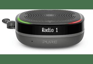 PURE StreamR Splash Bluetooth Lautsprecher, DAB, DAB+, FM, Bluetooth, Charcoal