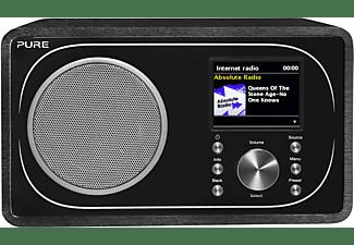 PURE Evoke F3 Internet Radio, DAB, DAB+, Internet Radio, FM, Bluetooth, Schwarz
