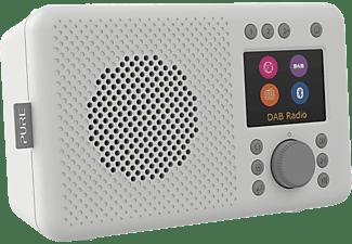 PURE Elan Connect DAB+ Radio, DAB, DAB+, Internet Radio, FM, Bluetooth, Stone Grey