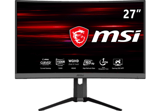 "MSI Optix MAG272CQR - Moniteur gaming (27 "", WQHD, 165 Hz, Noir)"