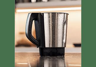Robot de cocina - Cecotec Mambo 8590, Multifuncional, 1700 W, 3.3 l, 30 funciones, 5 accesorios, Negro