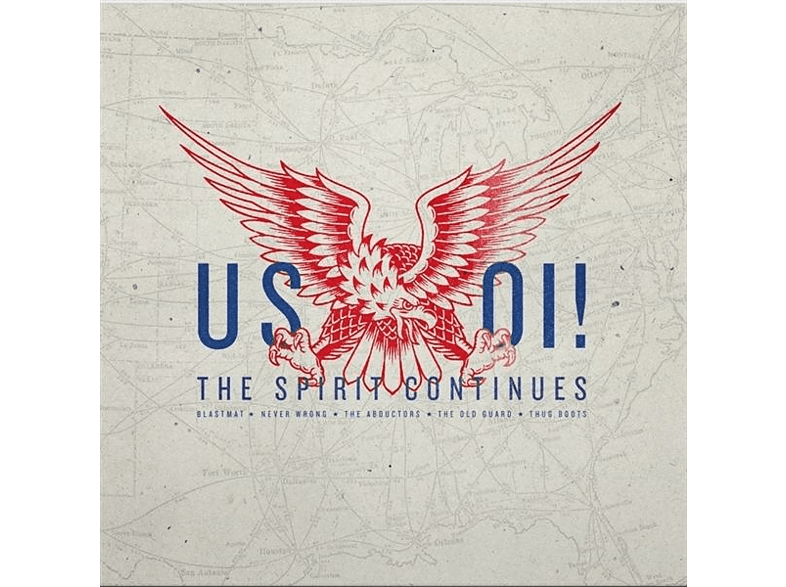 VARIOUS - US OI! THE SPIRIT CONTINUES