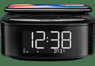 PHILIPS R7705/10 Radiowecker, Autom. digitales Tuning, DAB, FM, Bluetooth, Schwarz