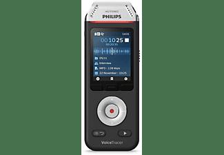 PHILIPS DVT 2810 Diktiergerät, Schwarz/Chrom