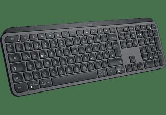 Logitech MX Keys toetsenbord Bluetooth QWERTY US International Aluminium, Zwart
