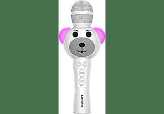 LENCO BMC-060 Mikrofon, Weiß