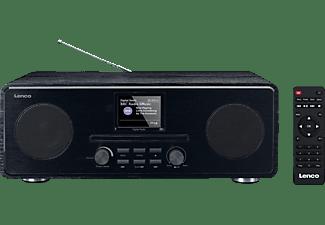 LENCO DAR-061 Radio/CD-Spieler, DAB+, FM, Bluetooth, Schwarz