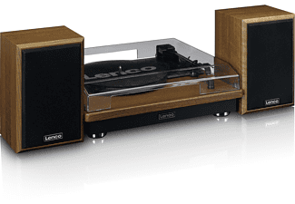 LENCO LS 100 WD Plattenspieler Holz