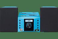 LENCO MC-013 BU Mini-Stereoanlage  (Blau)