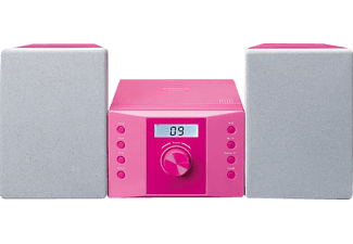 LENCO MC-013 PK Mini-Stereoanlage  (Pink)