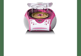 LENCO SCD-24 PK KIDS CD Player, Pink