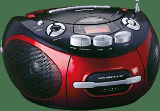 LENCO SCD-430 Radiorecorder, Rot