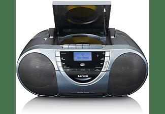 LENCO SCD-6800 Radiorecorder, Grau
