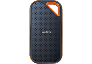 SANDISK Extreme PRO Portable , 1 TB SSD, extern, Grau/Orange