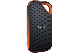 SANDISK Extreme PRO Portable , 2 TB SSD, extern, Grau/Orange