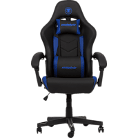 SNAKEBYTE Gaming Seat EVO (Blue) Gaming Stuhl, Blau/Schwarz