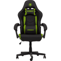 SNAKEBYTE Gaming Seat EVO (Green) Gaming Stuhl, Grün/Schwarz