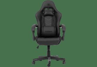 SNAKEBYTE Gaming Seat EVO (Black) Gaming Stuhl, Schwarz