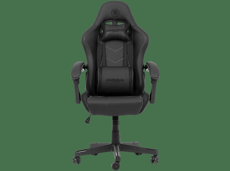 SNAKEBYTE Gaming Seat EVO (Black) Stuhl, Schwarz