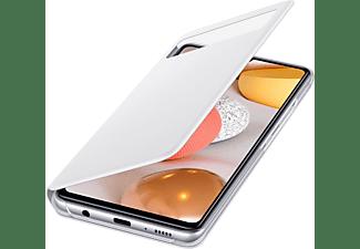 SAMSUNG View Wallet, Bookcover, Samsung, Galaxy A42, Weiß
