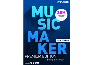 MUSIC Maker Premium Edition 2021 - [PC]