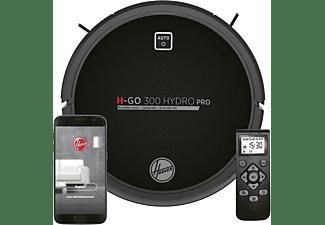 Robot aspirador - Hoover Hydro Pro HGO330HC, 720 W, Aspirador fregona, 120 min, 2 depósitos, WIFI, Negro