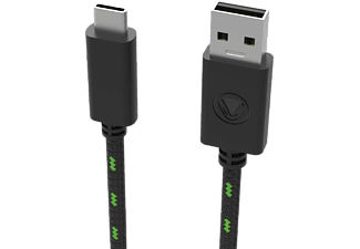 SNAKEBYTE CHARGE:CABLE SX PRO - Cavo USB-C (Nero/Verde)