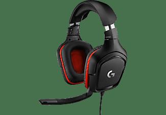LOGITECH G332, Over-ear Gaming Headset Schwarz