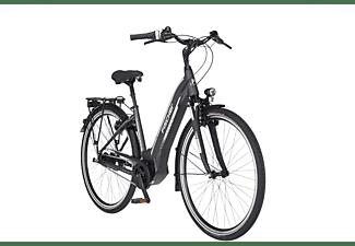 FISCHER CITA 5.0I Citybike (Laufradgröße: 28 Zoll, Rahmenhöhe: 44 cm, Unisex-Rad, 418 Wh, Schiefergrau matt)