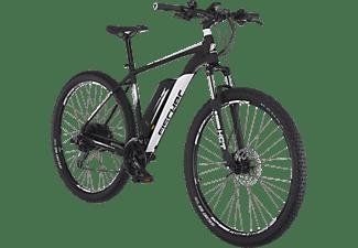 FISCHER EM 1724 Mountainbike (Laufradgröße: 29 Zoll, Rahmenhöhe: 51 cm, Unisex-Rad, 422 Wh, Signalschwarz matt)