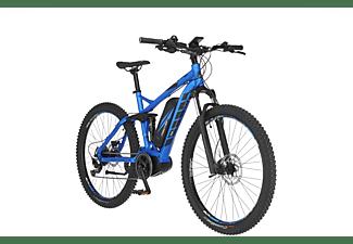 FISCHER EM 1862.1 Mountainbike (Laufradgröße: 27,5 Zoll, Rahmenhöhe: 48 cm, Unisex-Rad, 557 Wh, Brillantblau matt)