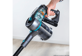 Aspirador escoba - Cecotec Conga RockStar 500 X-Treme, 430 W, 0.8 l, 2500 mAh, 25.9 V, Negro