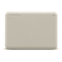 Disco duro externo 1 TB - Toshiba Canvio Advance, USB 3.2, Blanco
