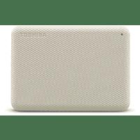 "Disco duro externo 4 TB - Toshiba Canvio Advance, 2.5"", USB tipo A, HDD, ~ 5,0 Gbps, 900 mA, Blanco"