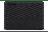 Disco duro externo 4 TB - Toshiba Canvio Advance, 2.5, USB tipo A, HDD, ~ 5,0 Gbps, 900 mA, Negro