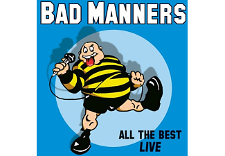 Bad Manners - ALL THE BEST LIVE  - (Vinyl)