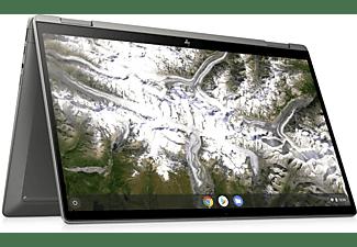 HP x360 14c-ca0350ng, Premium Chromebook mit 14 Zoll Display Touchscreen, Intel® Core™ i5 Prozessor, 8 GB RAM, 128 GB eMMC, Intel® UHD Grafik, Silber