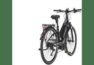 FISCHER ETD 1861.1 Lady Trekkingrad (Laufradgröße: 28 Zoll, Rahmenhöhe: 49 cm, Damen-Rad, 557 Wh, Schwarz matt)
