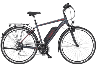 FISCHER ETH 1806 Trekkingrad (Laufradgröße: 28 Zoll, Rahmenhöhe: 50 cm, Herren-Rad, 422 Wh, Dunkel anthrazit matt)