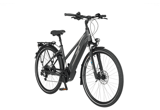 FISCHER Viator 5.0I Lady Trekkingrad (Laufradgröße: 28 Zoll, Rahmenhöhe: 49 cm, Damen-Rad, 418 Wh, Schiefergrau matt)