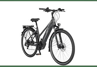 FISCHER Viator 5.0I Trekkingrad (Laufradgröße: 28 Zoll, Rahmenhöhe: 44 cm, Damen-Rad, 418 Wh, Schiefergrau matt)