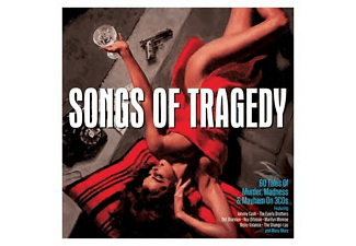 VARIOUS - SONGS OF TRAGEDY  - (CD)