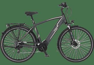 FISCHER Viator 5.0I Trekkingrad (Laufradgröße: 28 Zoll, Rahmenhöhe: 55 cm, Herren-Rad, 418 Wh, Schiefergrau matt)