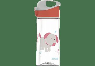 SIGG 8731.80 Miracle Puppy Friend Trinkflasche Transparent Mit Motiv