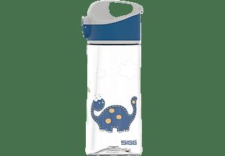 SIGG 8731.90 Miracle Dinosaur Friend Trinkflasche Transparent Mit Motiv