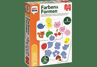 JUMBO Ich lerne Formen & Farben Kinderspiele Mehrfarbig